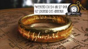 afffiche seigneur des anneaux