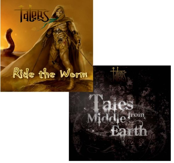 Lot : Tales from middle earth + Ride the Worm