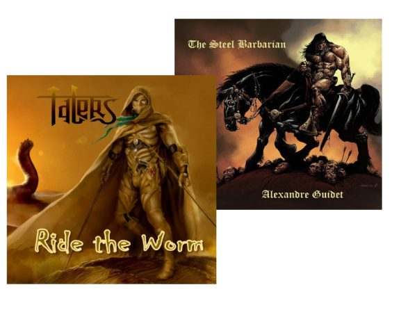 Lot : The Steel Barbarian + Ride the Worm